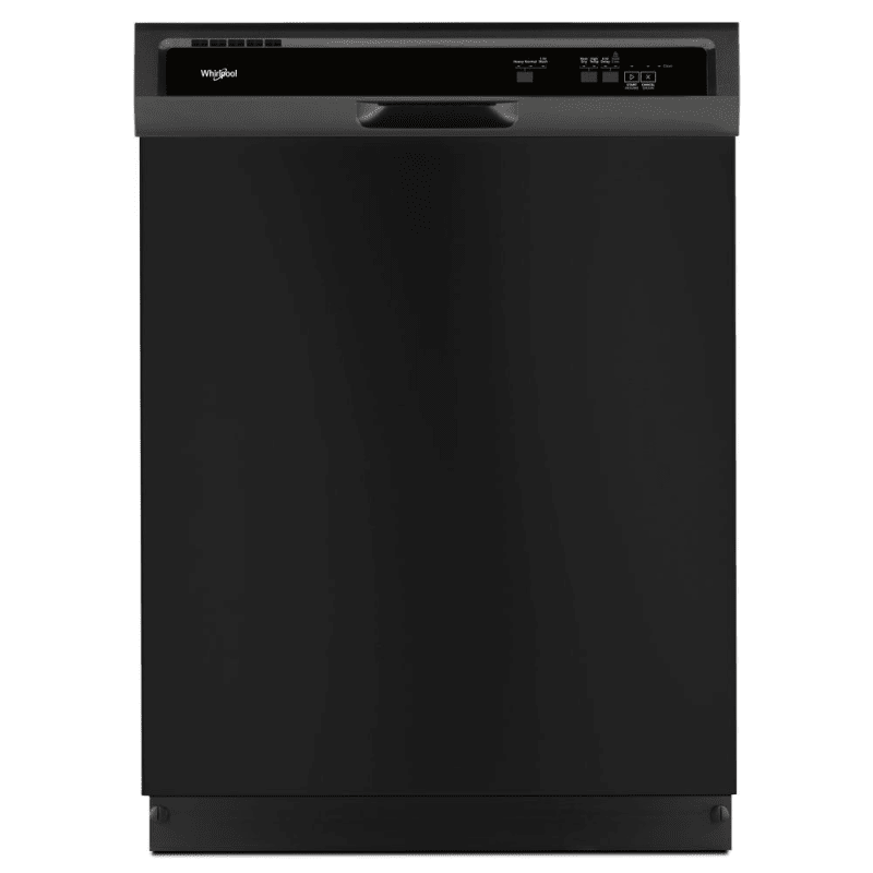Whirlpool WDF331PAHB 24 Inch Wide 13 Place Setting Energy Star Rated Built-In Full Console Dishwasher, Black