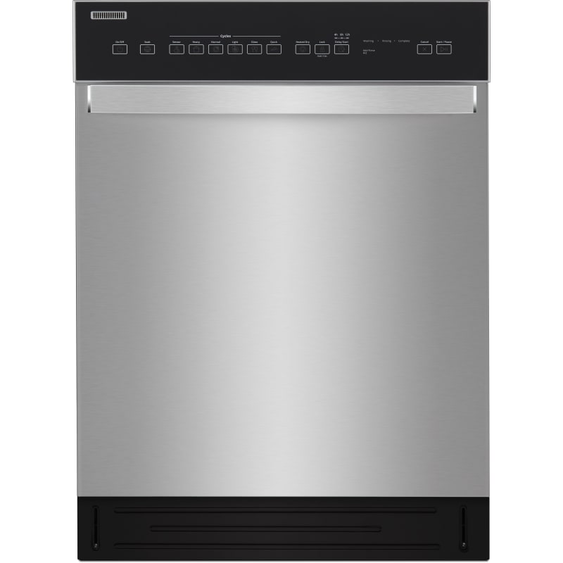 Whirlpool WDF550SAHS 24 Inch Wide 12 Place Setting Energy Star Rated Built-In Fully Integrated Dishwasher Stainless Steel