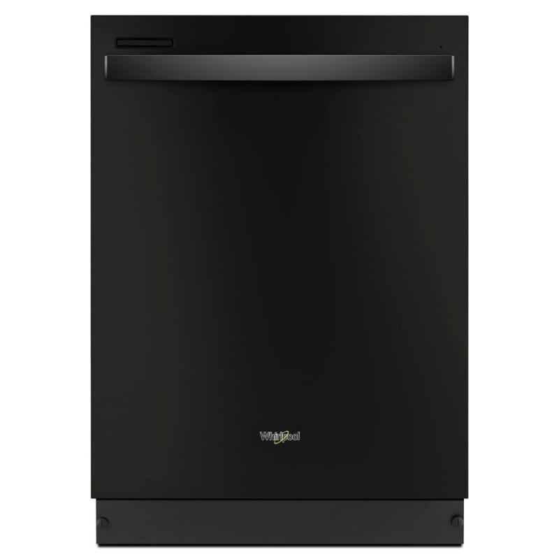 Whirlpool WDT710PAHB 24 Inch Wide 13 Place Setting Energy Star Rated Built-In Fully Integrated Dishwasher, Black