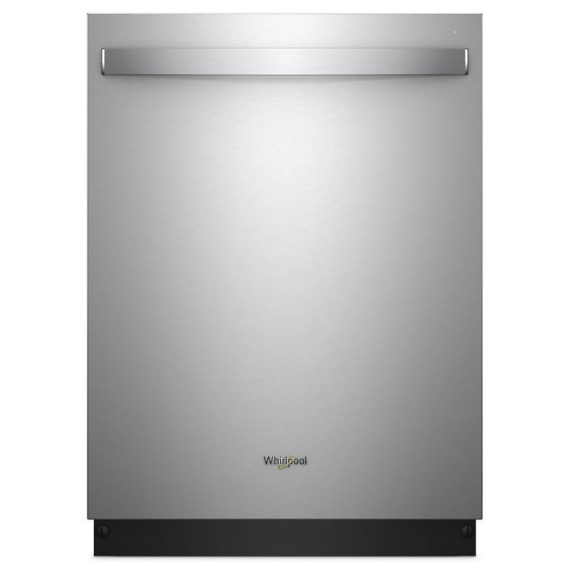 Whirlpool WDT750SAH 24 Inch Wide 15 Place Setting Energy Star Rated Built-In Ful Stainless Steel Dishwashers Dishwasher Built-In