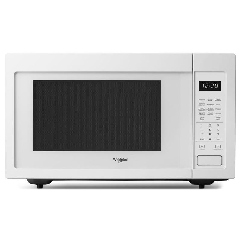 Whirlpool WMC30516H 22 Inch Wide 1.6 Cu. Ft. 1200 Watt Countertop Microwave White Microwave Ovens Microwave Countertop