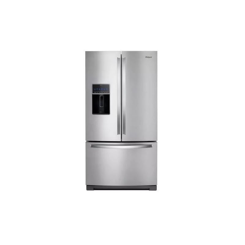 Whirlpool WRF757SDHZ 36 Inch Wide 26.8 Cu. Ft Capacity Energy Star Certified French Door Refrigerator with In-Door-Ice Storage, Stainless Steel