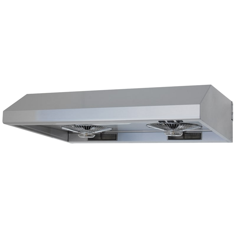 Windster Ws 5536 530 Cfm 36 Inch Wide Stainless Steel Under Cabinet Range Hood W