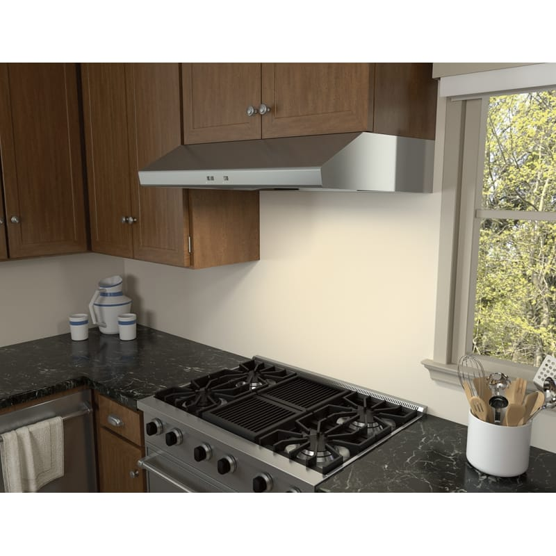 Zephyr Ak6542b 600 Cfm 42 Inch Wide Under Cabinet Range Hood From The Cyclone Se