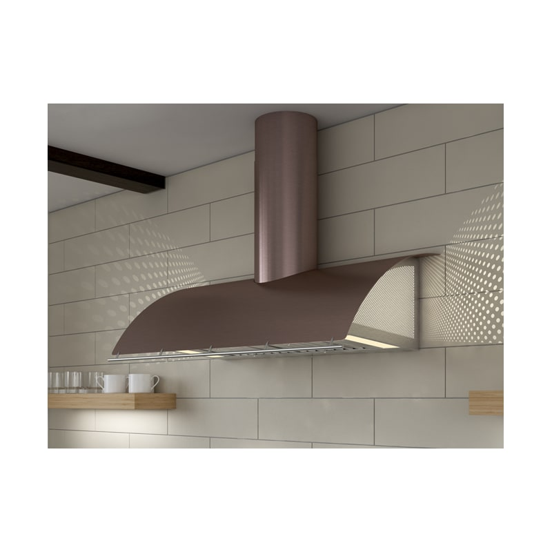 Zephyr Cok E48bxle 48 Inch Wide Cheng Wall Mount Range Hood With Led Lighting An