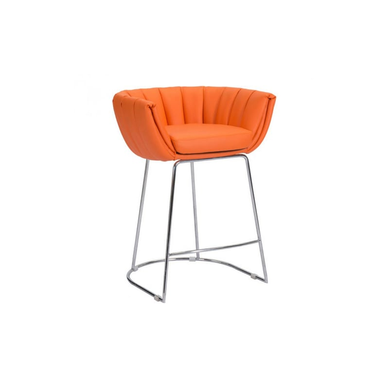 Remarkable Zuo Modern 100250 Latte Counter Stool Package Of 2 Stools Creativecarmelina Interior Chair Design Creativecarmelinacom