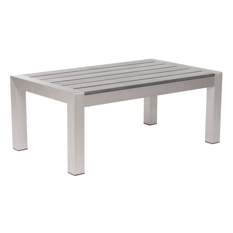Zuo Modern Cosmopolitan Coffee Table Cosmopolitan Outdoor Coffee Table