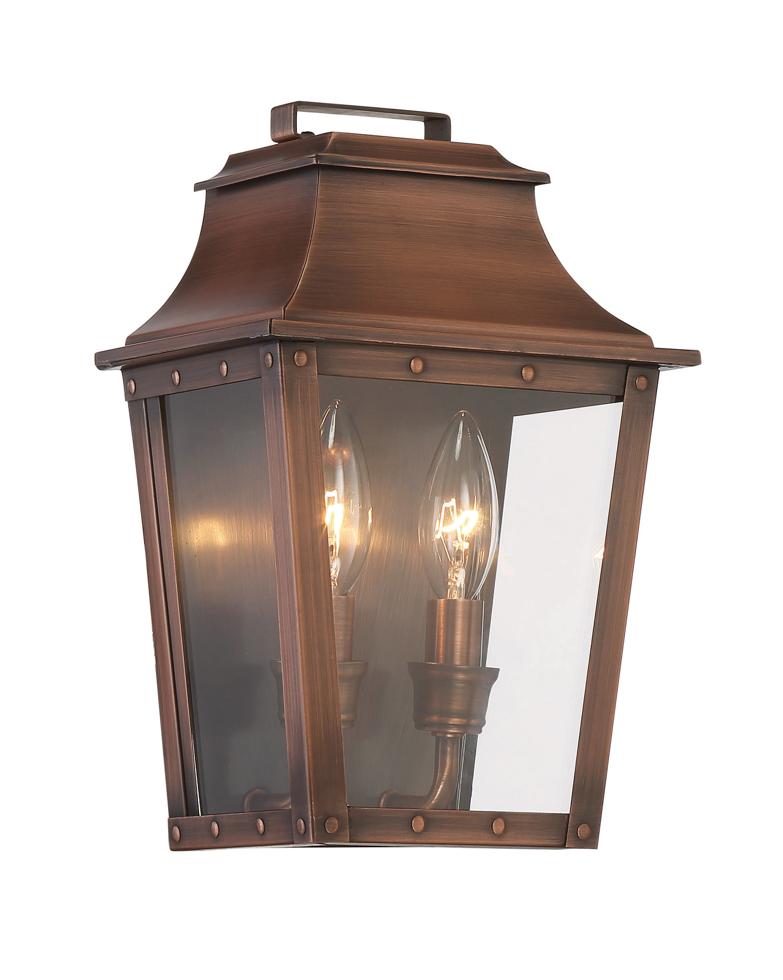 Acclaim Lighting 8423 Coventry 2 Light Outdoor Wall Sconce With Clear Gl