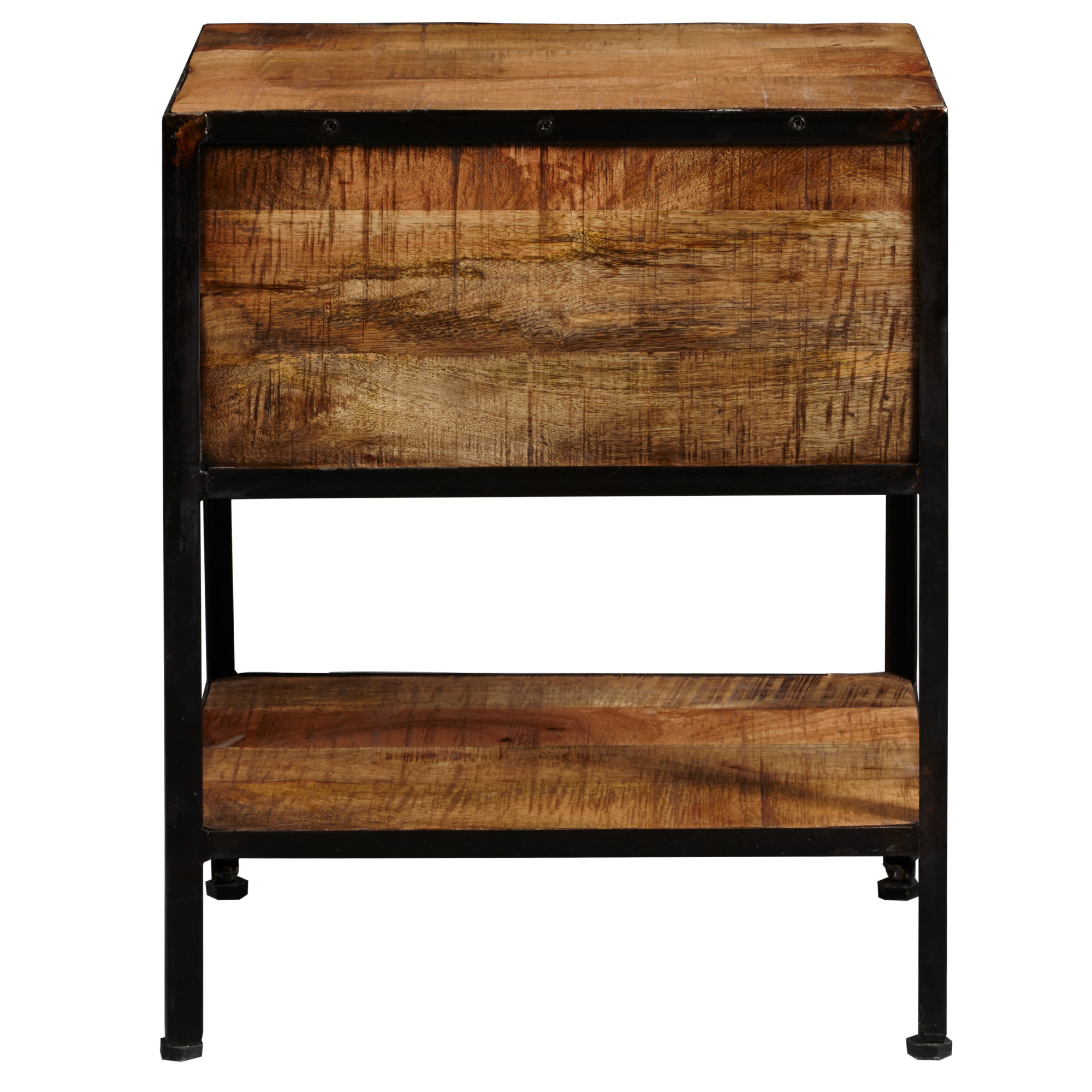 Astounding Details About Delacora Hm Ds D204 208 18 Wide Metal And Wood End Table Distressed Honey Ibusinesslaw Wood Chair Design Ideas Ibusinesslaworg