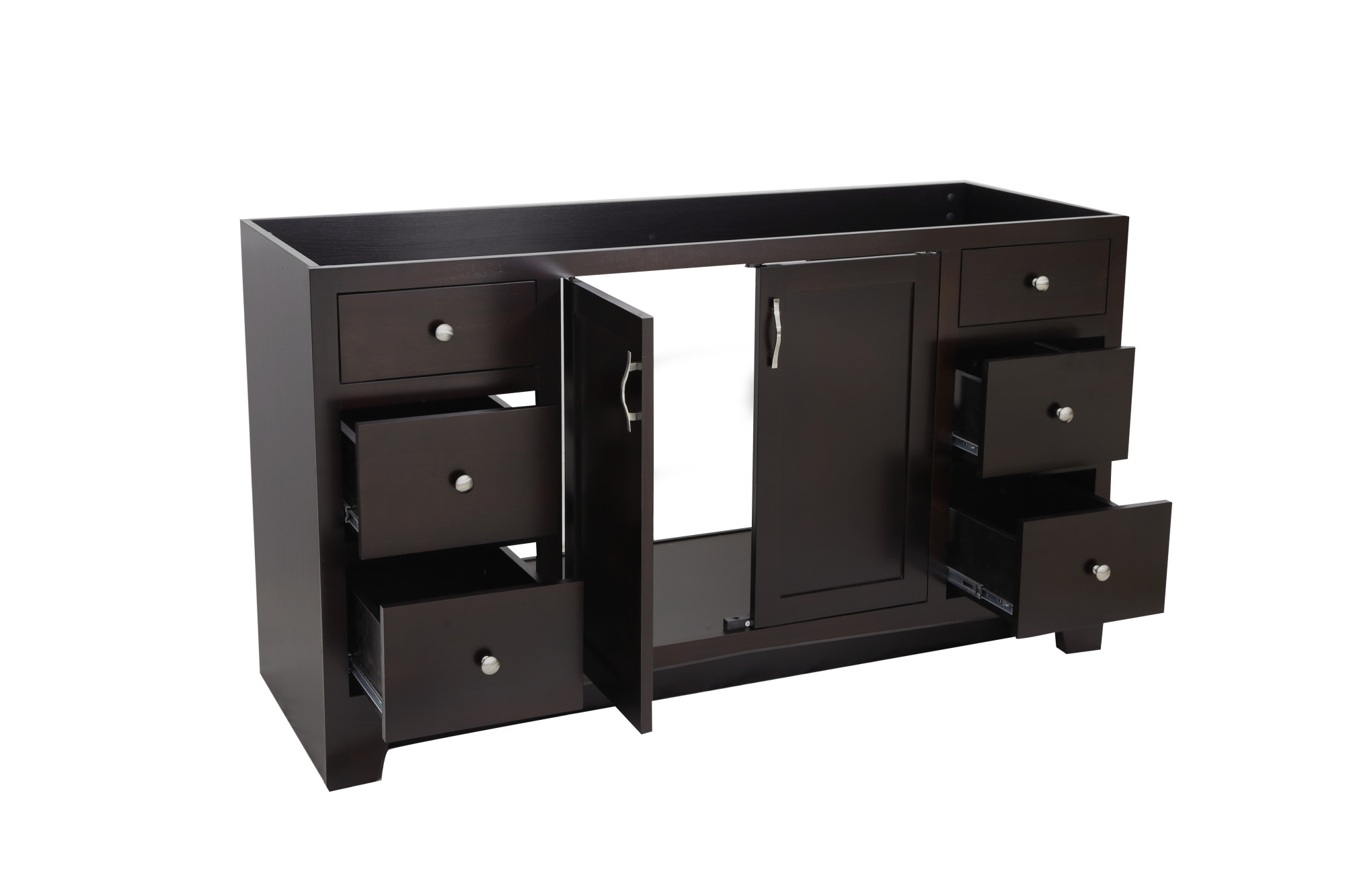 "Design House 541433 Ventura 60"" Wood Vanity Cabinet Only ..."