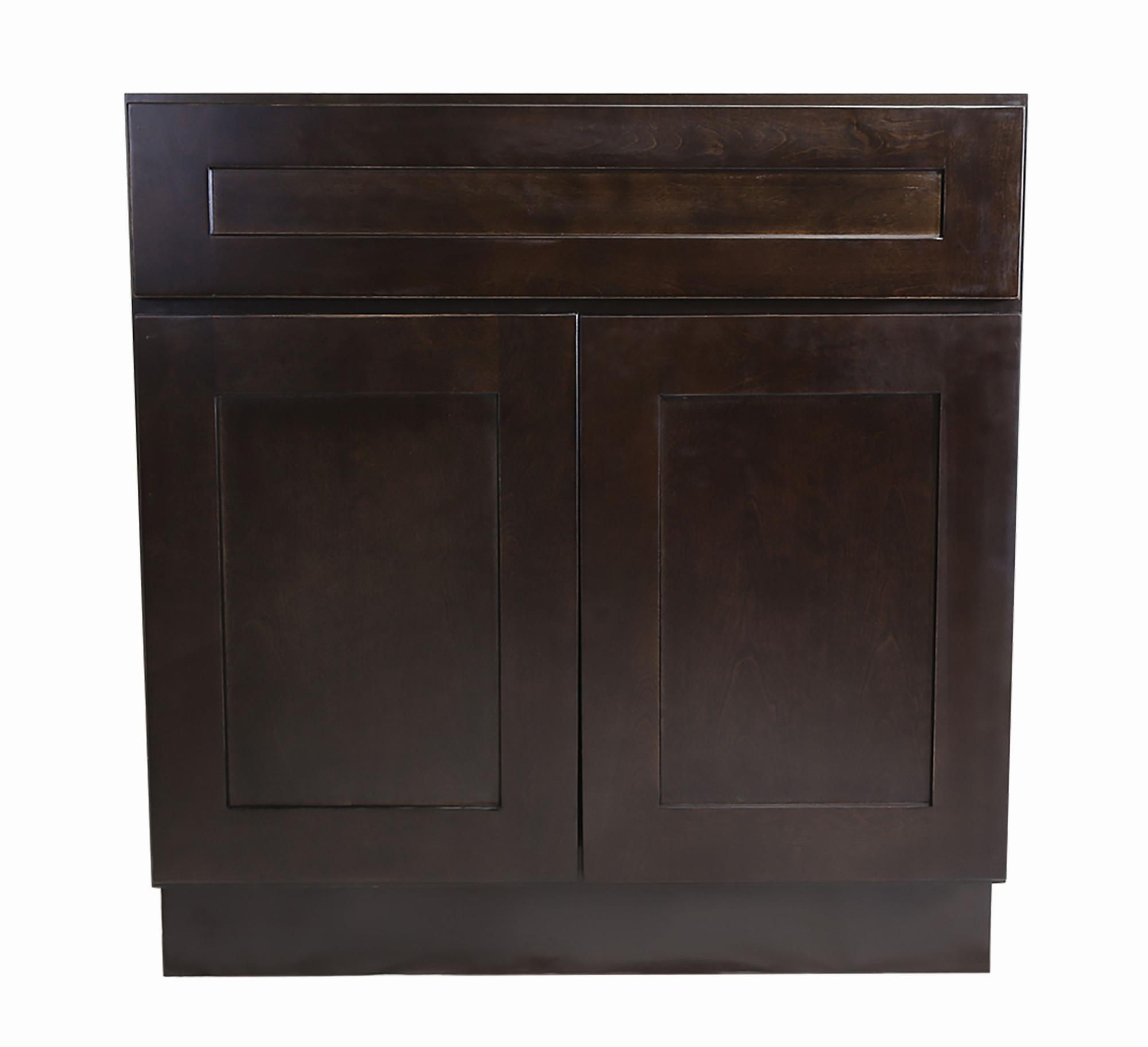 Design House 562066 Brookings 30 Wide X 34 1 2 High Double Door Base Cabinet W