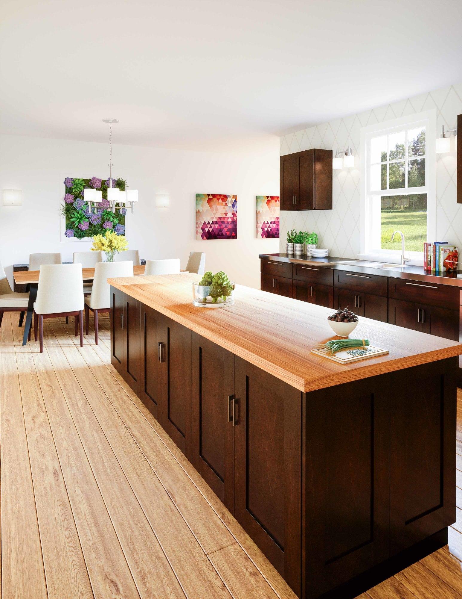 "Design House 568964 Espresso Brookings 12""W X 36""H Single ..."
