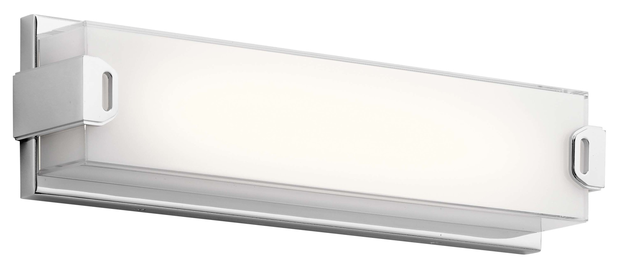 "Elan 83825 Xeo 1-Light 18""W Integrated LED Bath Bar"