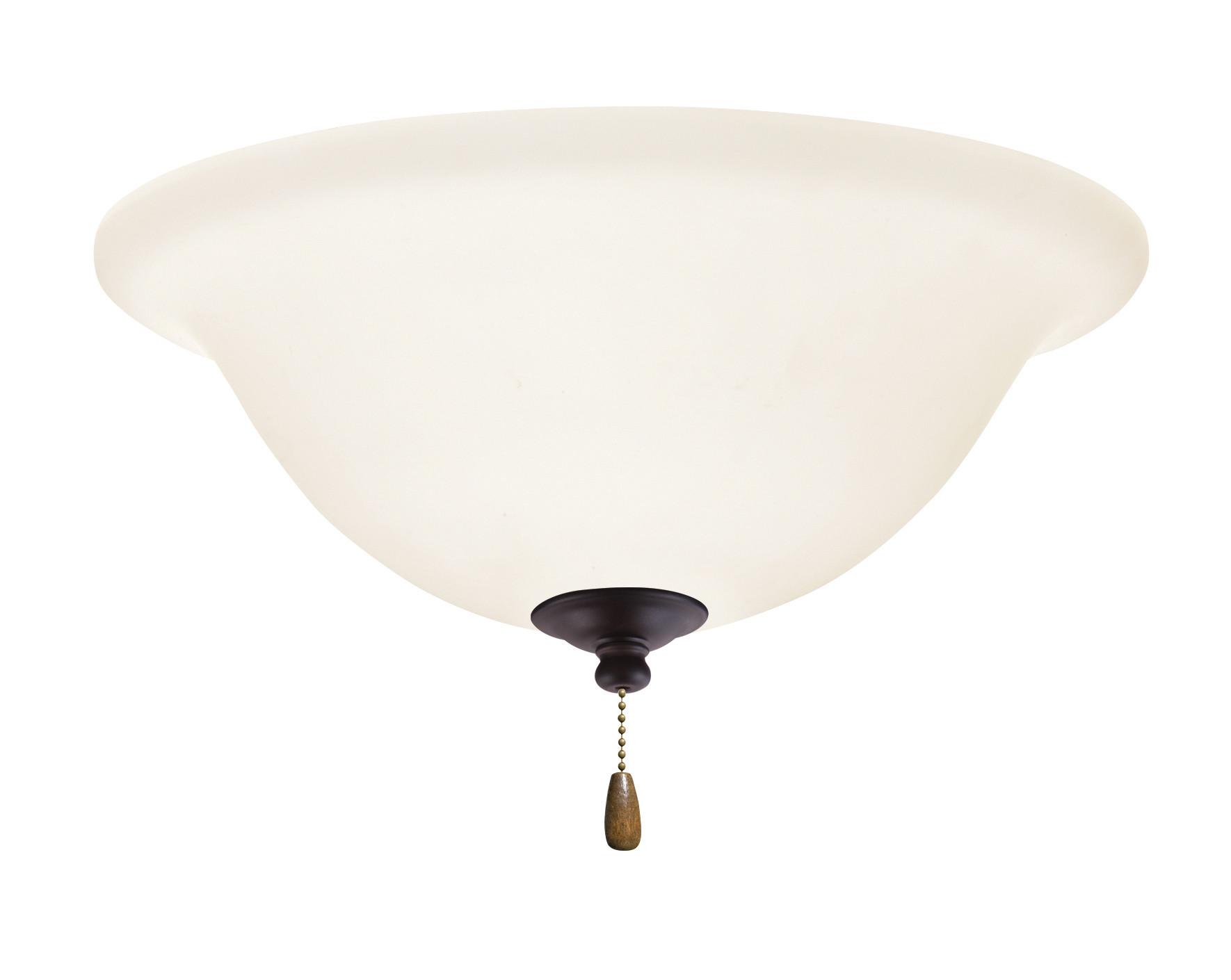 Emerson Lk74led Opal Matte 1 Light Led Ceiling Fan Kit