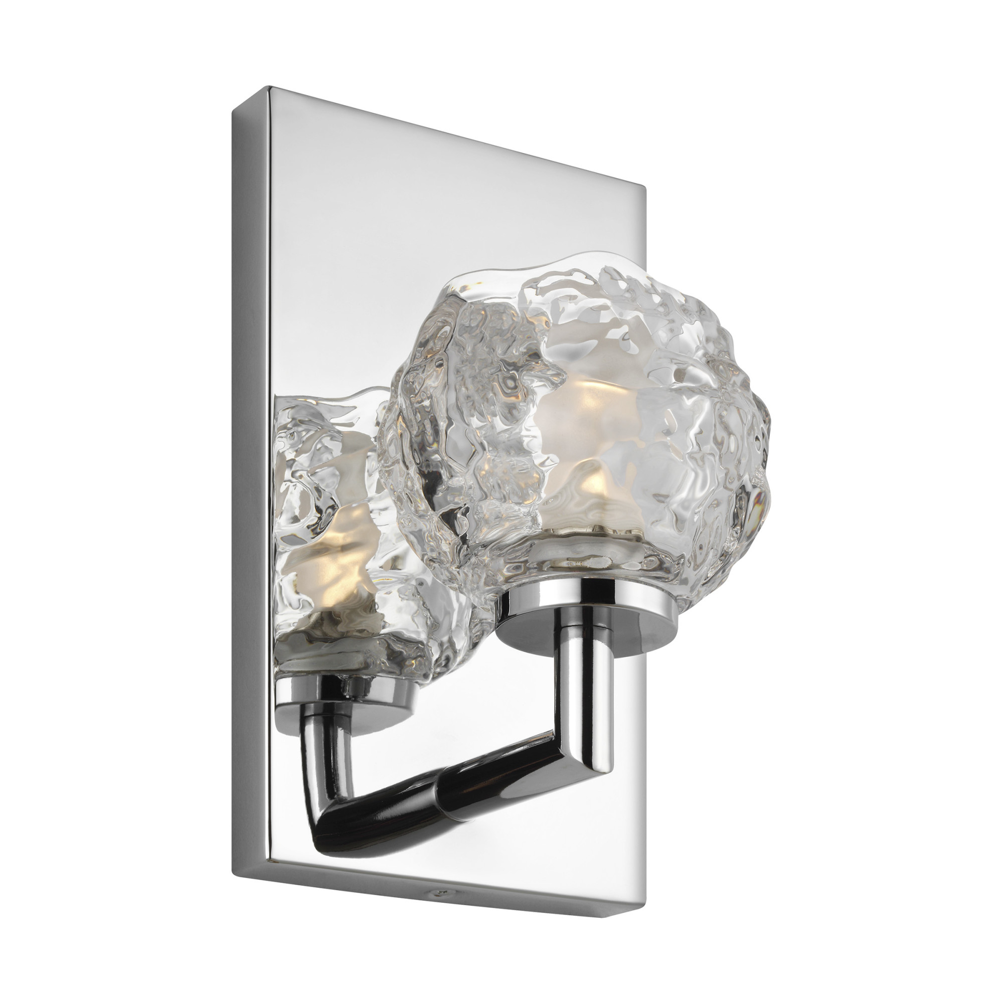 Details About Feiss Vs24331ch L1 Arielle 1 Light 9 Tall Led Bathroom Sconce Chrome