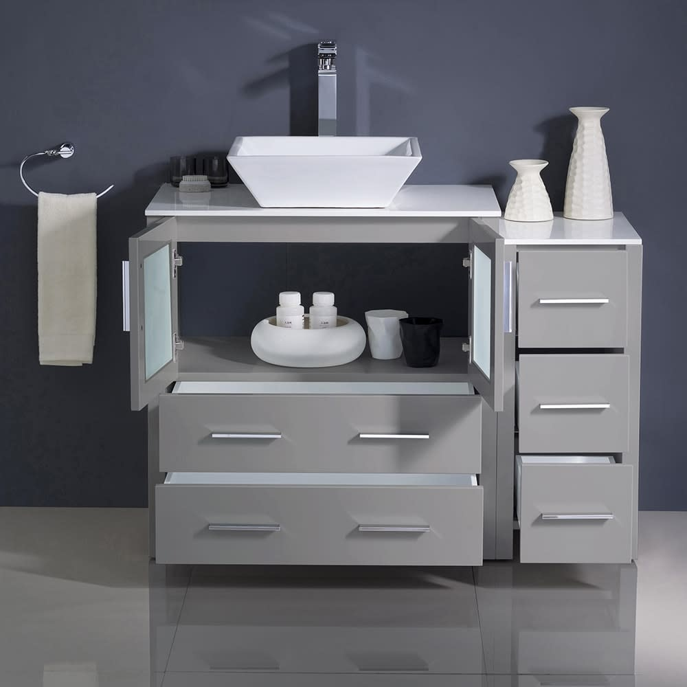 Fresca-FCB62-3012-V-Torino-42-034-Free-Standing-Vanity-Set-with-Plywood-Cabinet thumbnail 10