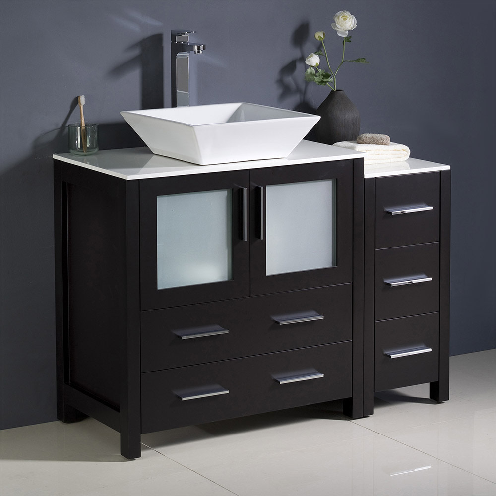 Fresca-FCB62-3012-V-Torino-42-034-Free-Standing-Vanity-Set-with-Plywood-Cabinet thumbnail 4