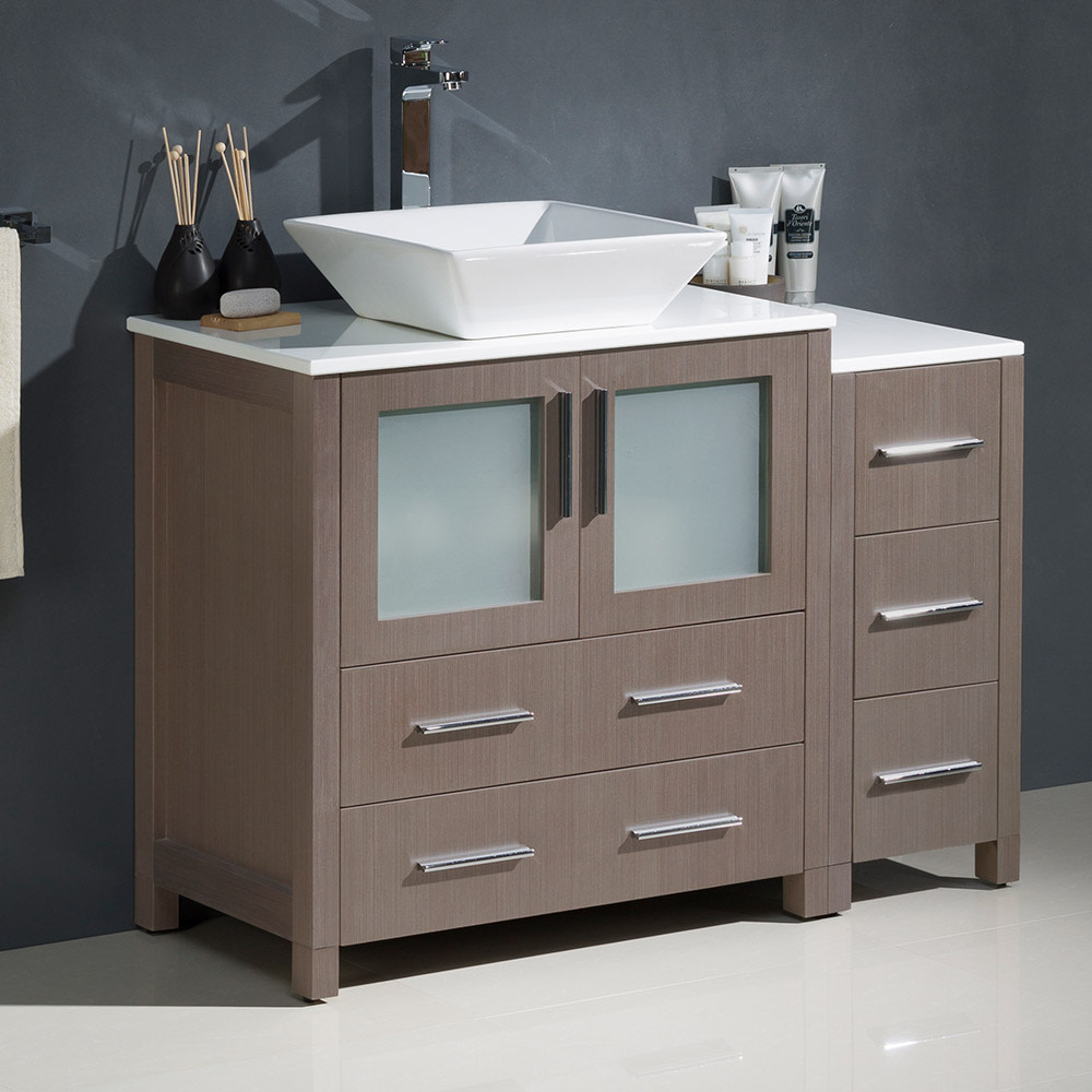 Fresca-FCB62-3012-V-Torino-42-034-Free-Standing-Vanity-Set-with-Plywood-Cabinet thumbnail 5