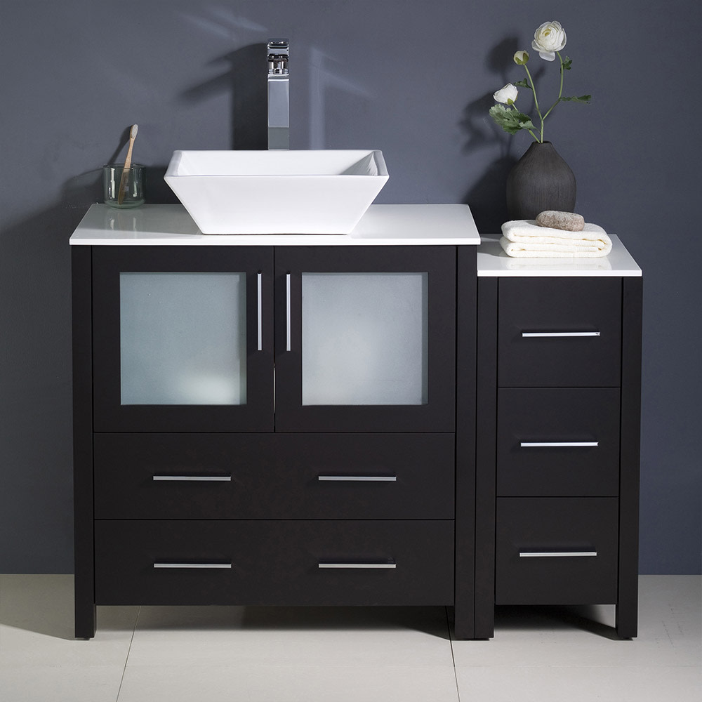 Fresca-FCB62-3012-V-Torino-42-034-Free-Standing-Vanity-Set-with-Plywood-Cabinet thumbnail 8