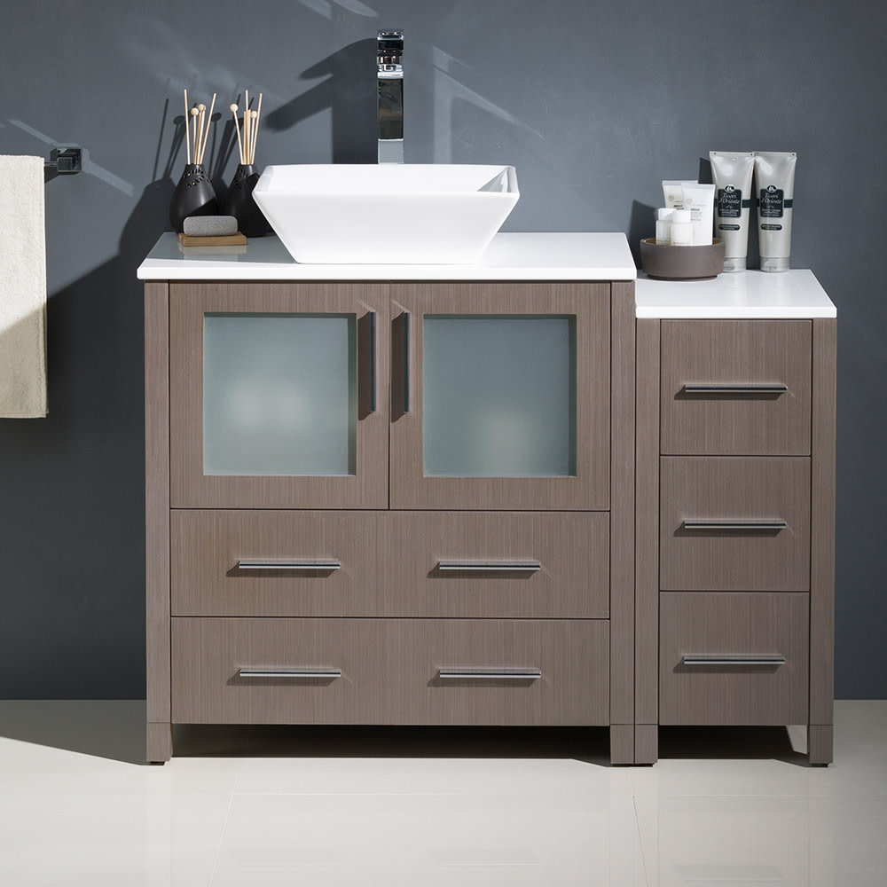 Fresca-FCB62-3012-V-Torino-42-034-Free-Standing-Vanity-Set-with-Plywood-Cabinet thumbnail 9