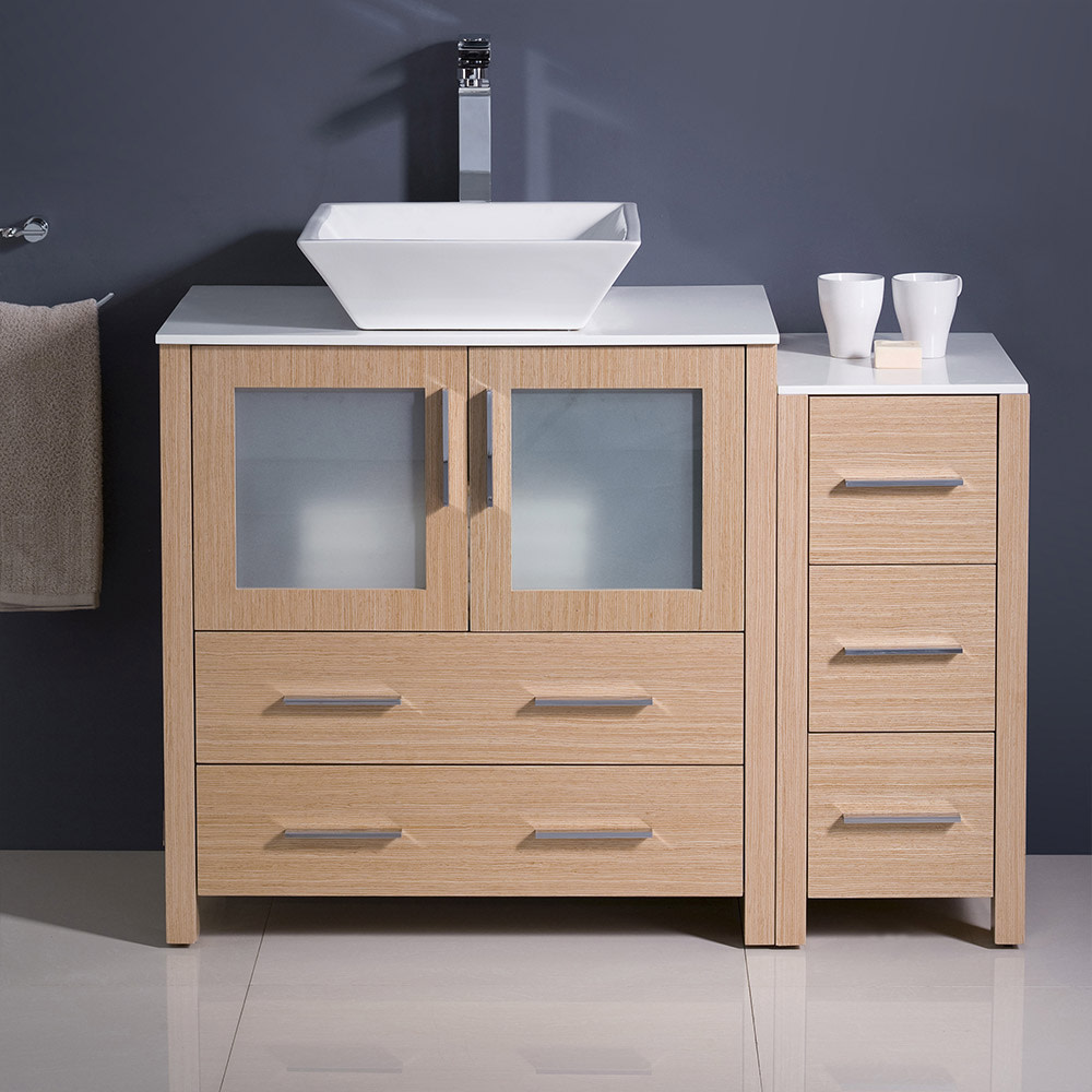 Fresca-FCB62-3012-V-Torino-42-034-Free-Standing-Vanity-Set-with-Plywood-Cabinet thumbnail 6