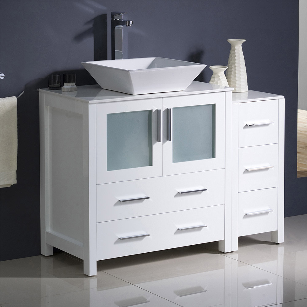 Fresca-FCB62-3012-V-Torino-42-034-Free-Standing-Vanity-Set-with-Plywood-Cabinet thumbnail 3