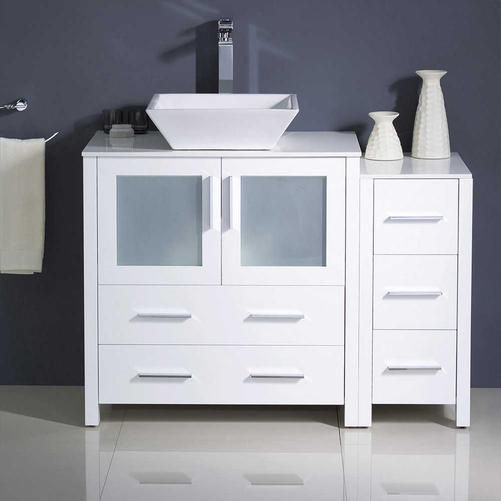 Fresca-FCB62-3012-V-Torino-42-034-Free-Standing-Vanity-Set-with-Plywood-Cabinet thumbnail 7