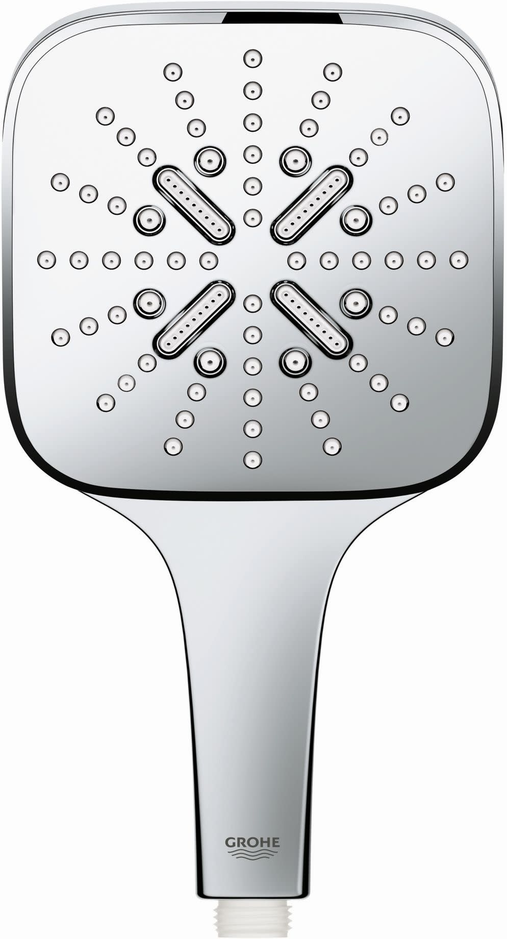 Grohe 26 552 Cube 1.75 GPM Multi Function Hand Shower - Chro