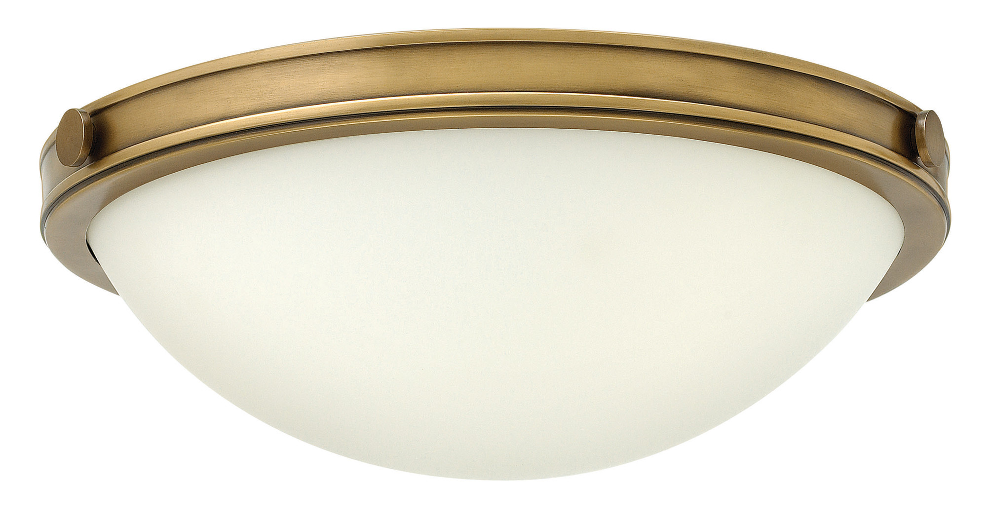pretty nice 66ac5 cec54 Details about Hinkley Lighting 3782 2 Light Flush Mount Ceiling Fixture fro  - Brass