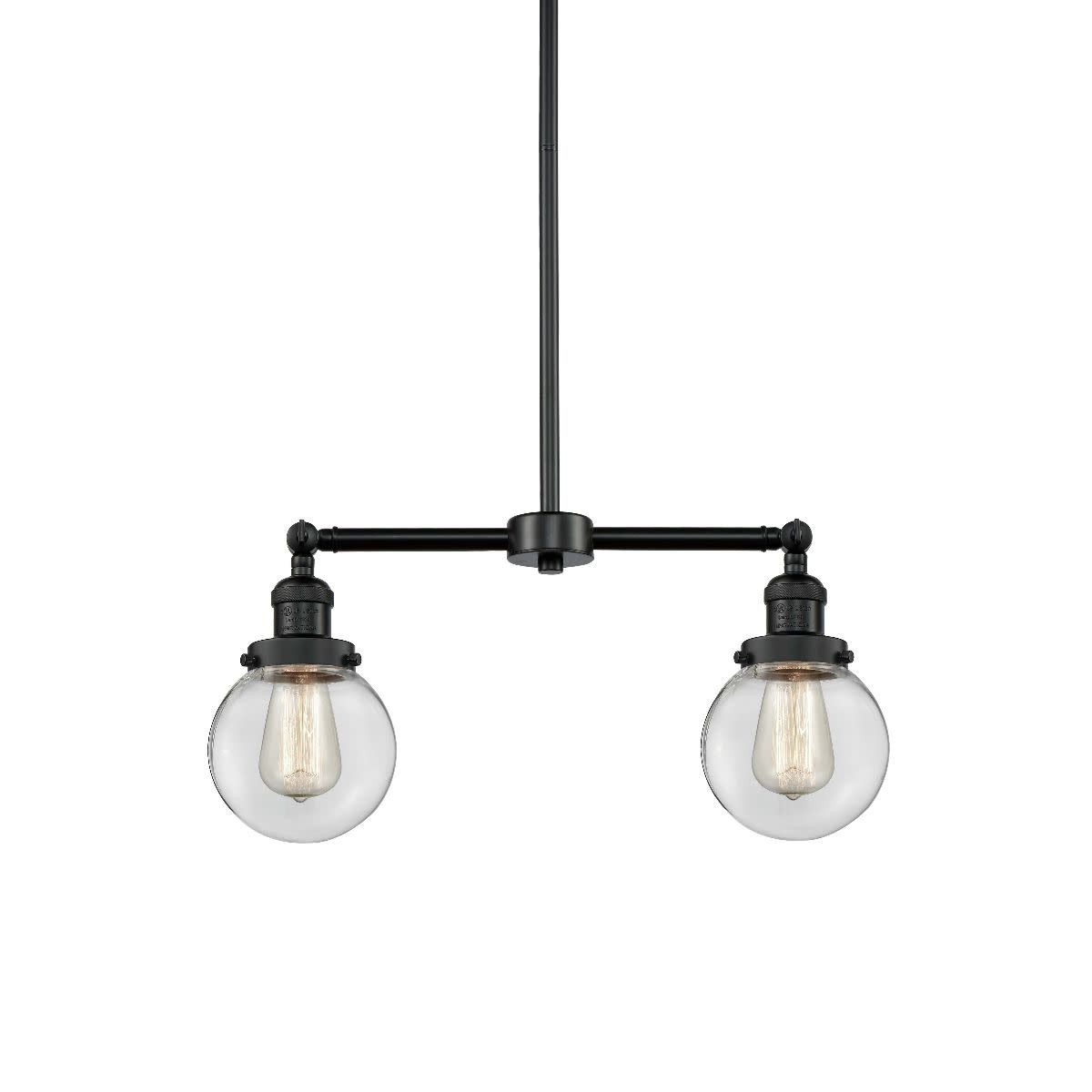 Details About Innovations Lighting 209 6 Beacon 2 Light 23 Wide Linear Chandelier