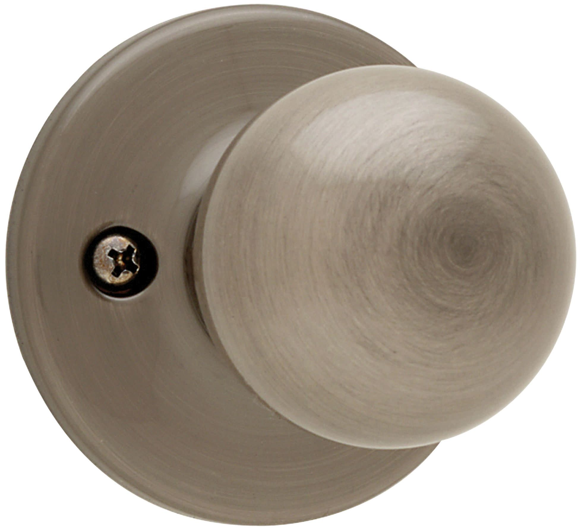 Etonnant Details About Kwikset 488P Polo Reversible Non Turning One Sided Dummy Door  Knob   Nickel