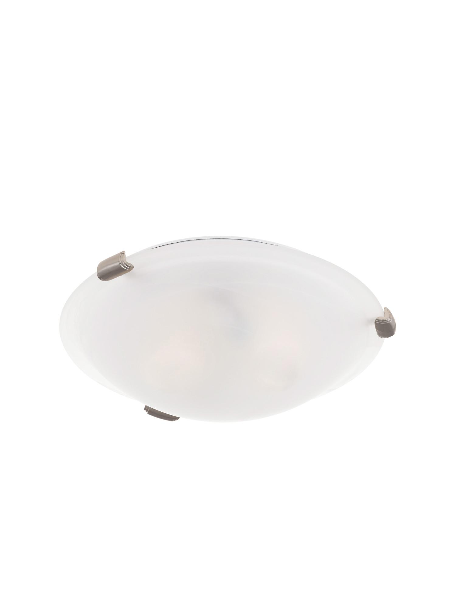 Livex Lighting 8010  Oasis 2 Light Flush Mount Ceiling Fixtu