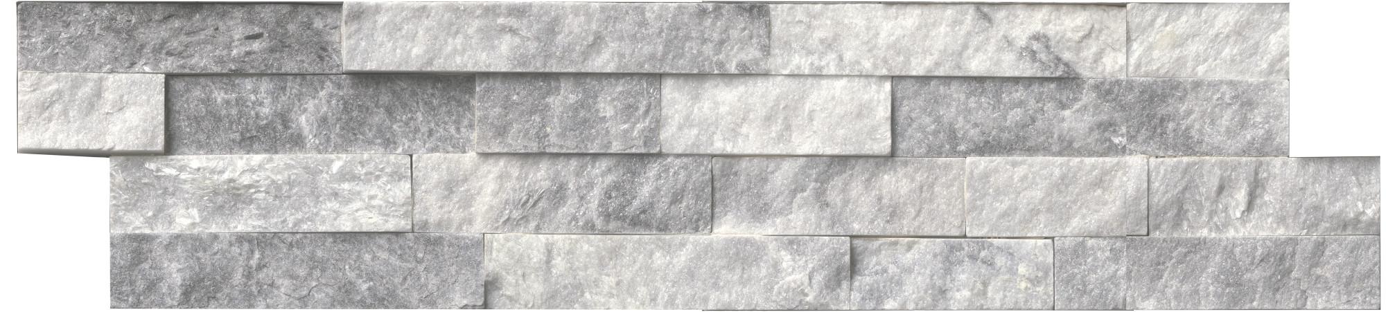 "Splitface Gold MSI LPNLSCALGLD624 24/"" x 6/"" Rectangle Wall Tile"