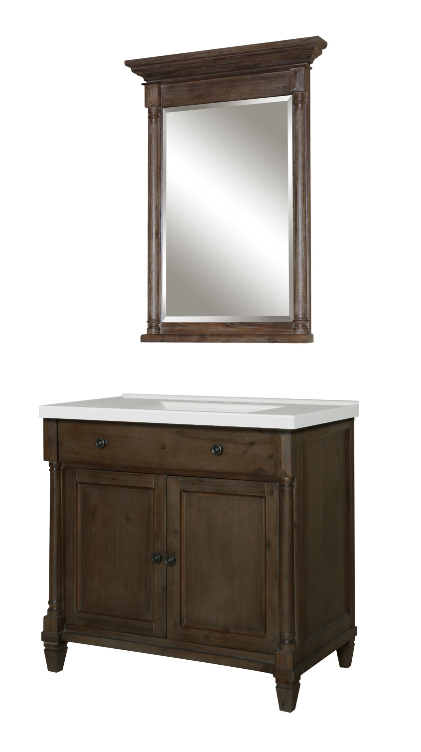 Miseno-MVNS36COM-36-034-Bathroom-Vanity-Set-Cabinet-Stone-Top-and-Mirror thumbnail 5