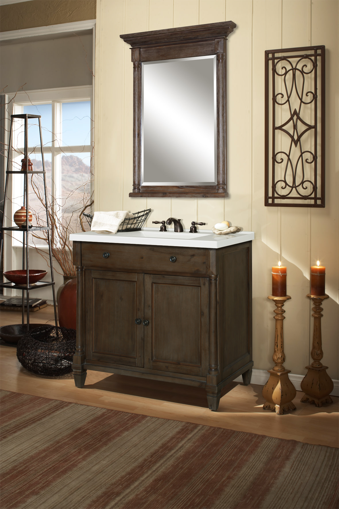 Miseno-MVNS36COM-36-034-Bathroom-Vanity-Set-Cabinet-Stone-Top-and-Mirror thumbnail 6