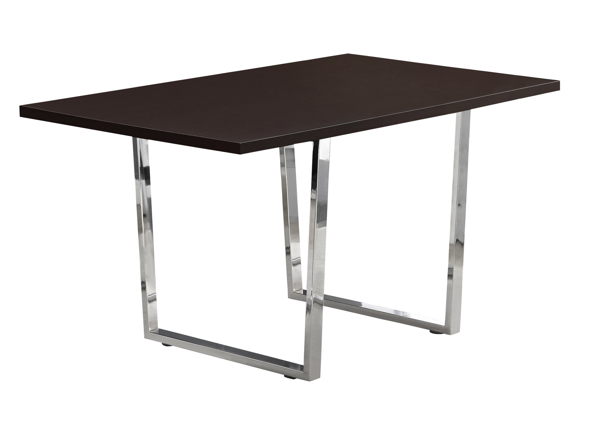 Details About Monarch Specialties I 1122 59 W Basic Modern Dining Table Cappuccino