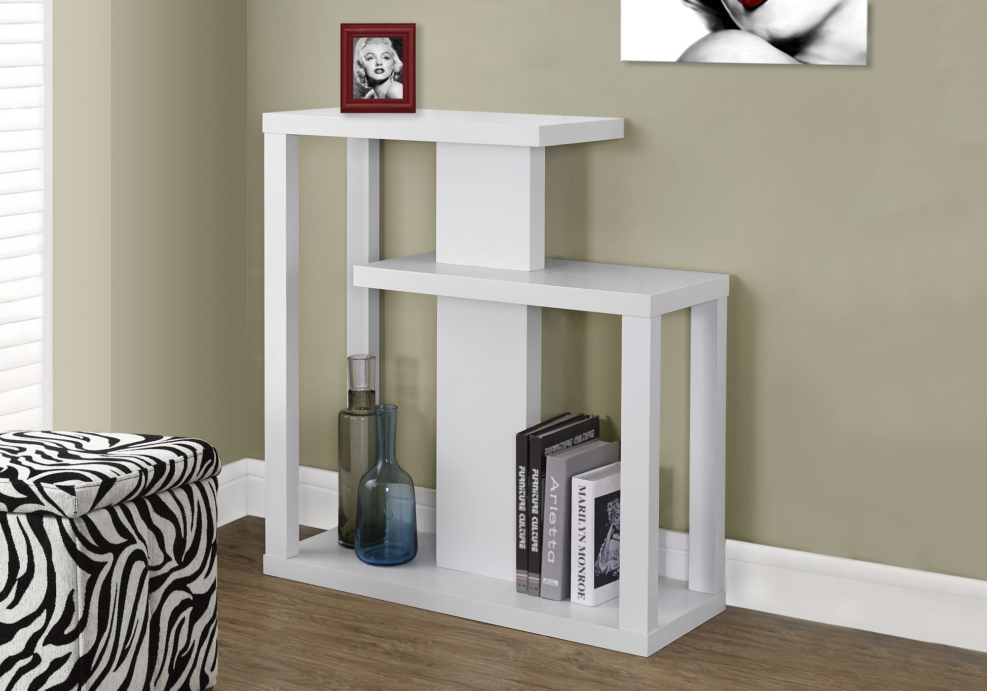 Details About Monarch Specialties I 2471 32 W Contemporary Hall Console Table White