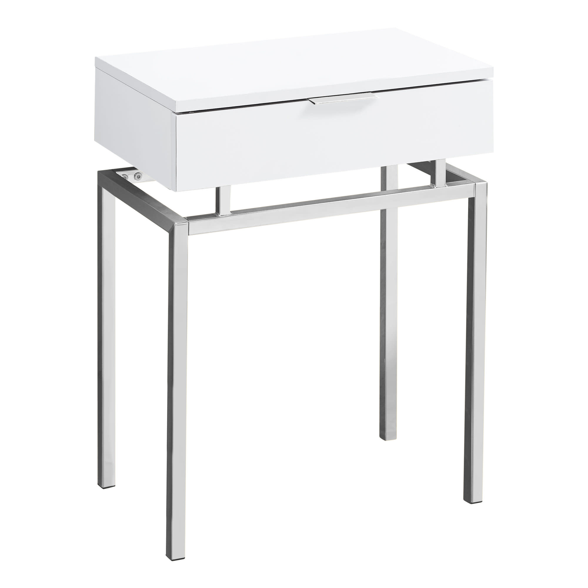 Astonishing Details About Monarch Specialties I 346 18W Urban Accent Table White Ibusinesslaw Wood Chair Design Ideas Ibusinesslaworg