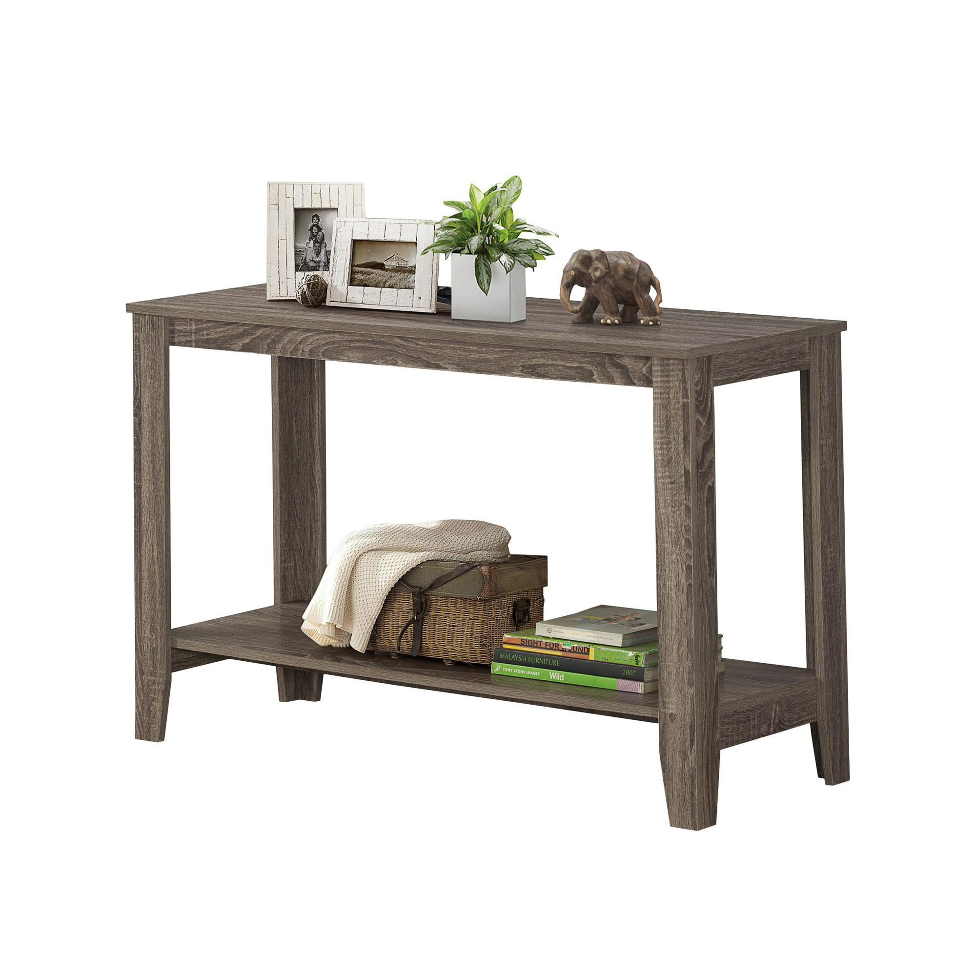 Outstanding Details About Monarch Specialties I 7915S Dark Taupe 44W Particle Board Console Sofa Table Ibusinesslaw Wood Chair Design Ideas Ibusinesslaworg
