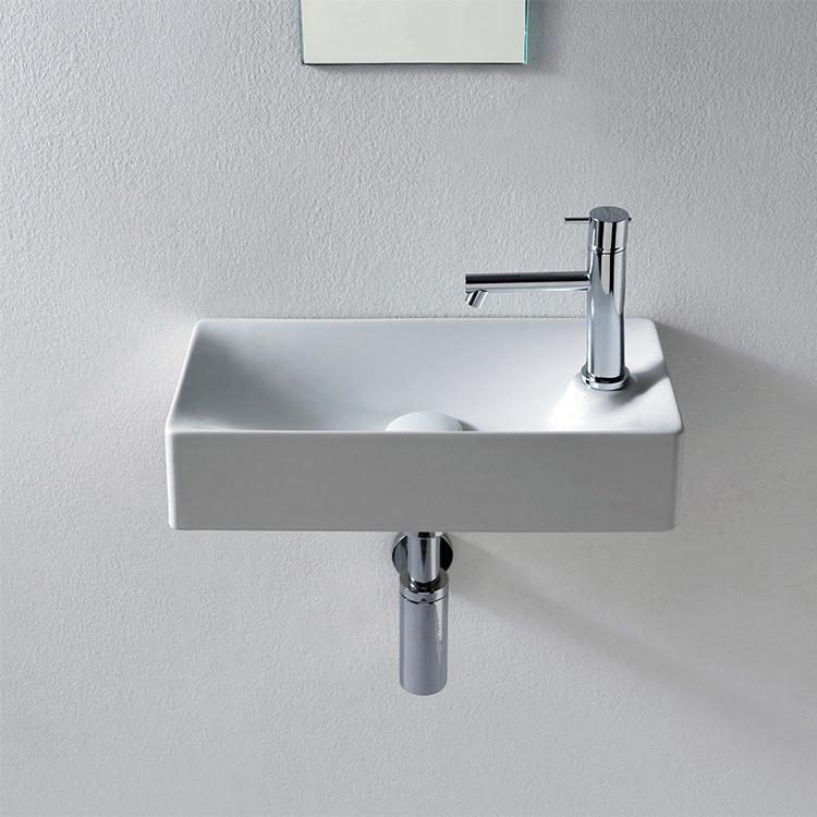 Nameeks 1501 Scarabeo 17 2 3 Ceramic Bathroom Sink For Vessel Or White Ebay