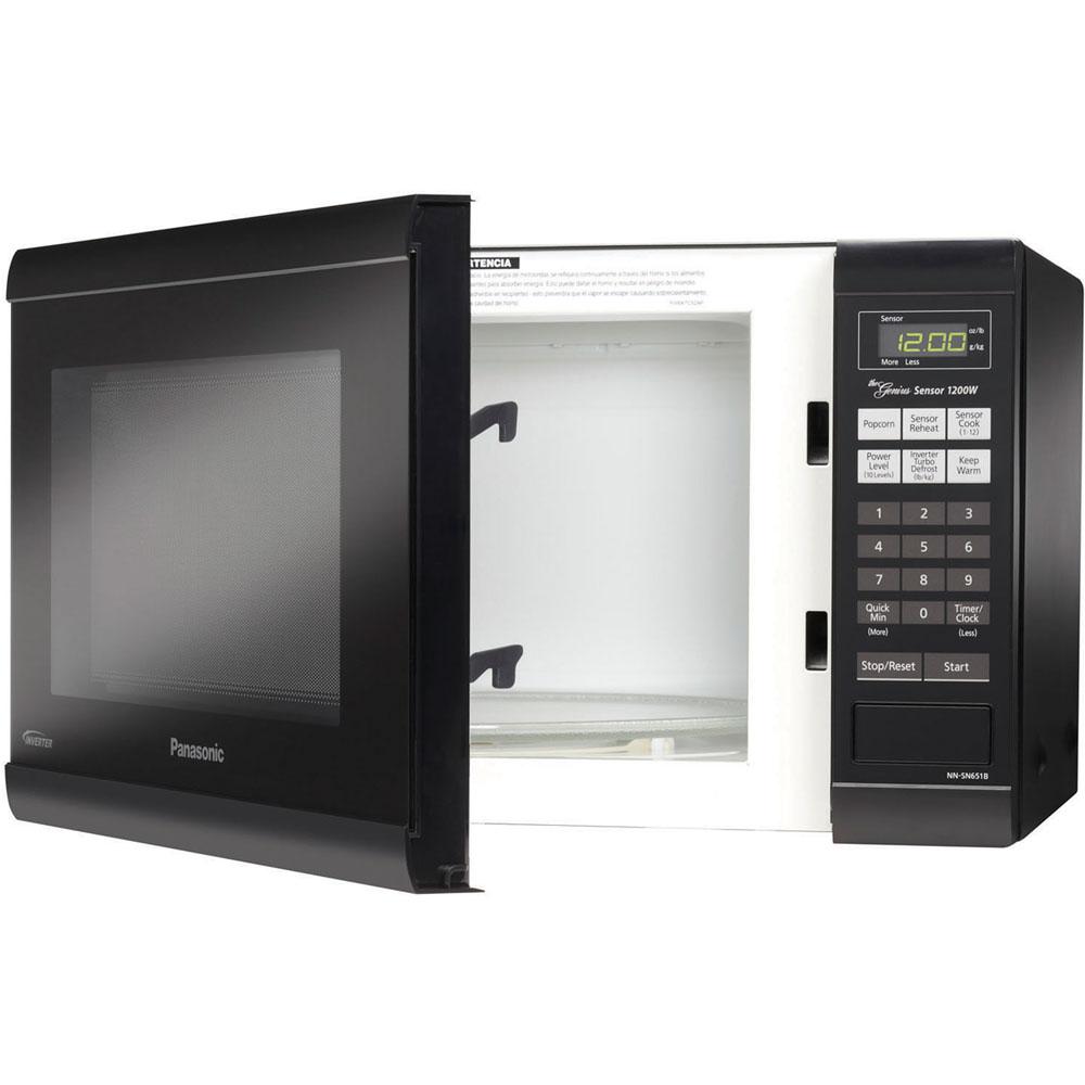 Panasonic Nn Sn651w White 21 Quot Wide 1 2 Cu Ft 1200 Watt