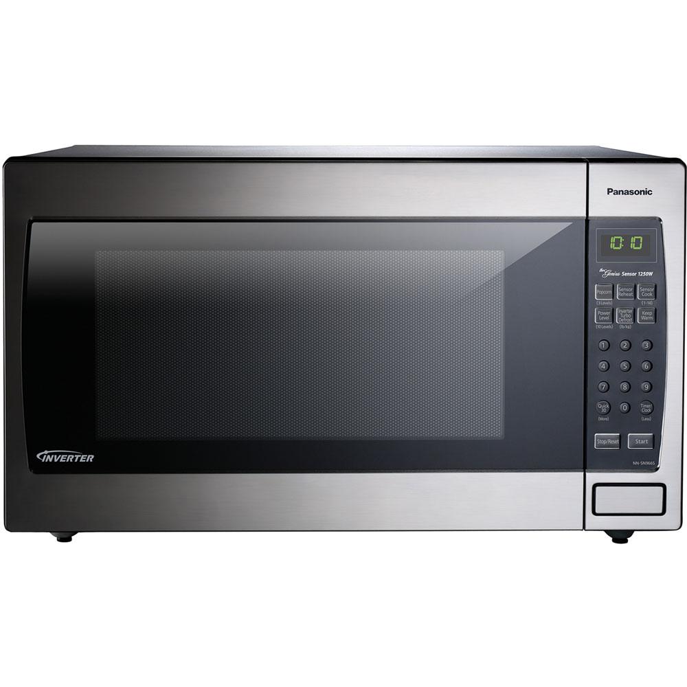 Panasonic Nn Sn966 24 Quot W 2 2 Cu Ft 1250 Watt Countertop