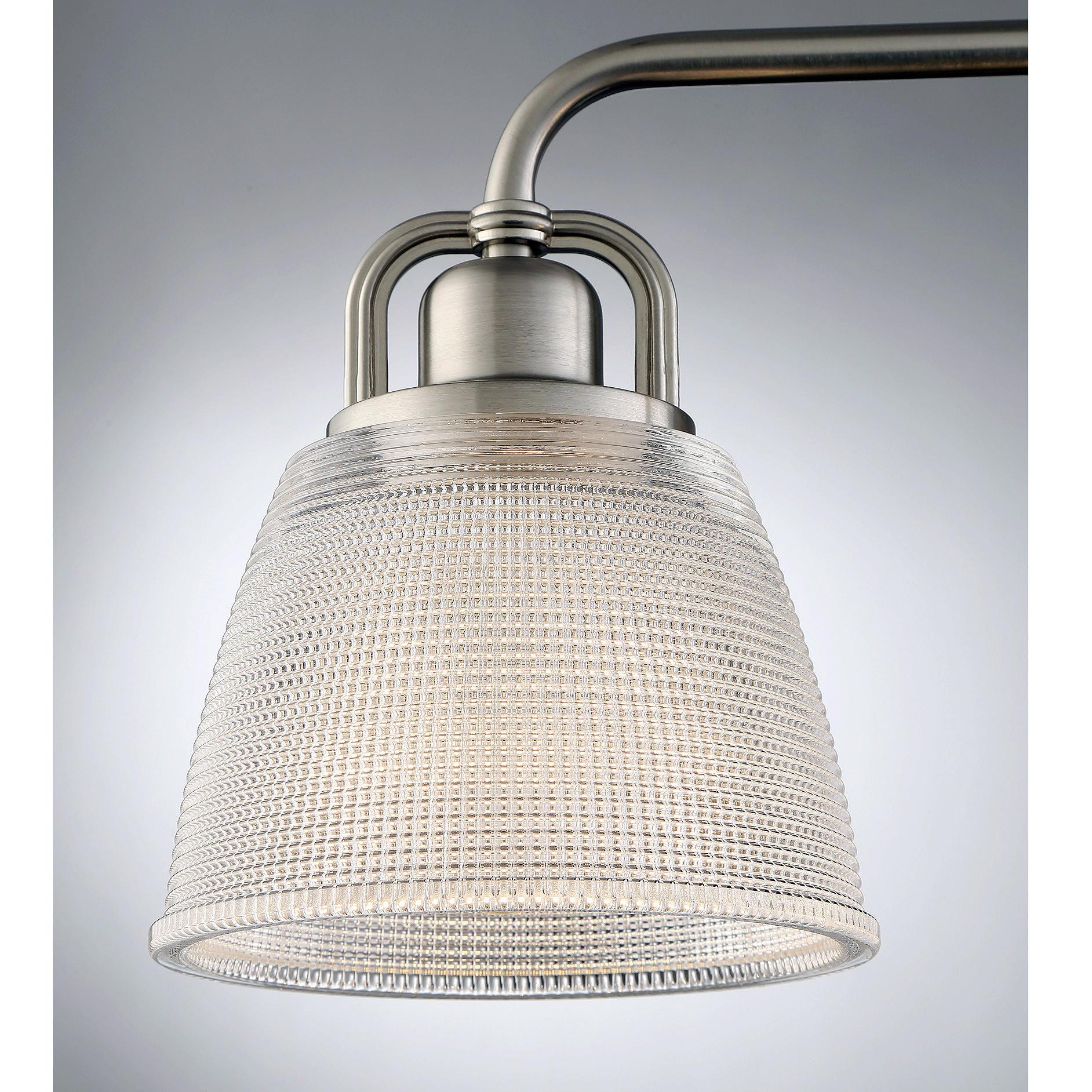 """Quoizel DBN8603 Dublin 3 Light 25""""W Bathroom Vanity Light ..."""