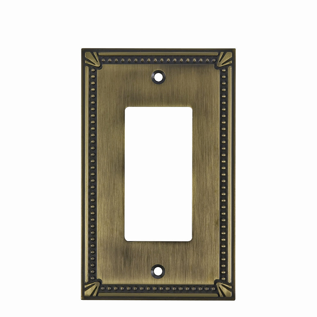 Richelieu Bp861s Single Traditional Rocker Switch Plate From The