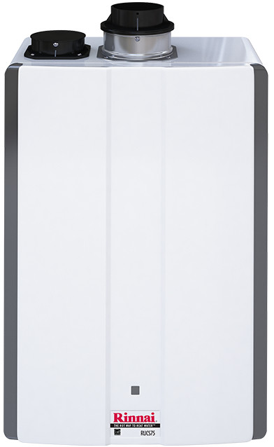Rinnai Ultra Series Tankless Water Heater, White #Rucs75in N