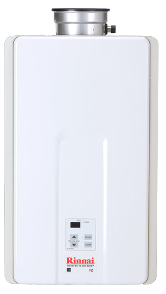 Rinnai V65IN 6.5 GPM Residential Indoor Natural Gas Tankless