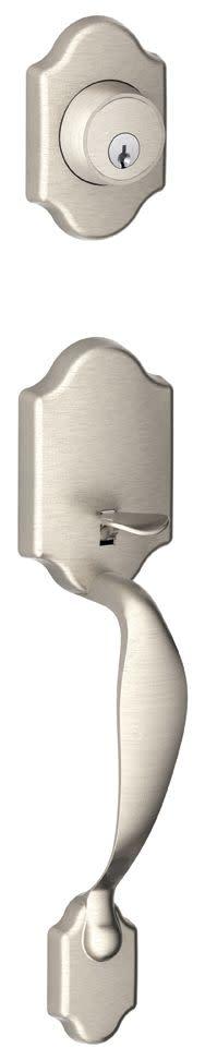 Schlage Jh58 Par Paris Single Cylinder Keyed Entry