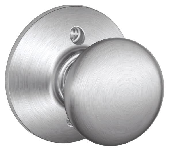 Charmant Details About Schlage F170PLY626 Plymouth One Sided Dummy Door Knob   Satin  Chrome