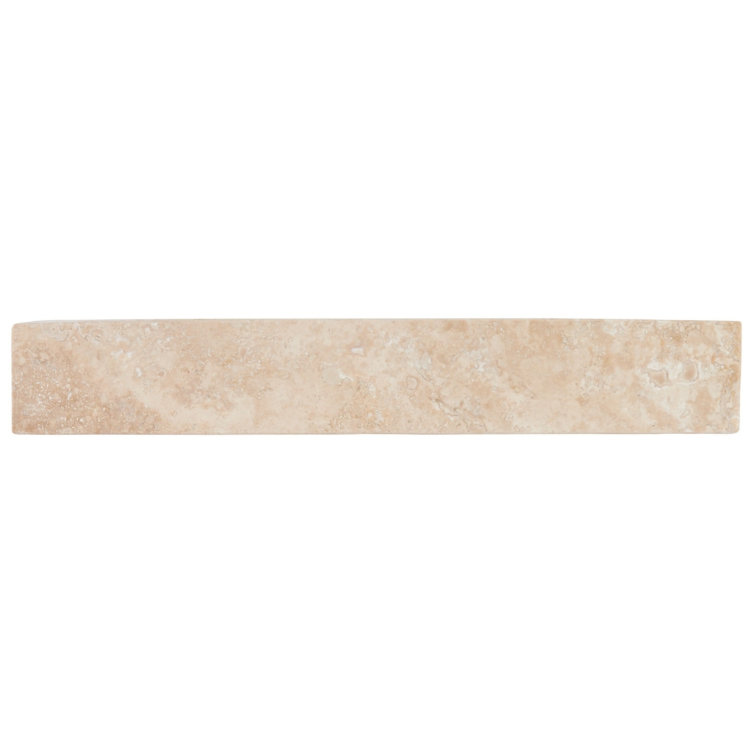 "thumbnail 16 - Signature Hardware 231915 20"" Square Polished Travertine Vessel"