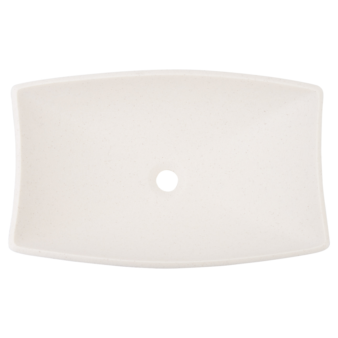 "thumbnail 17 - Signature Hardware 443771 Centauri 24"" Resin Vessel Bathroom Sink"